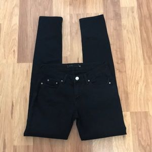 BDG Black Cigarette Jeans.